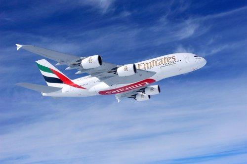 Avión A380 De Emirates