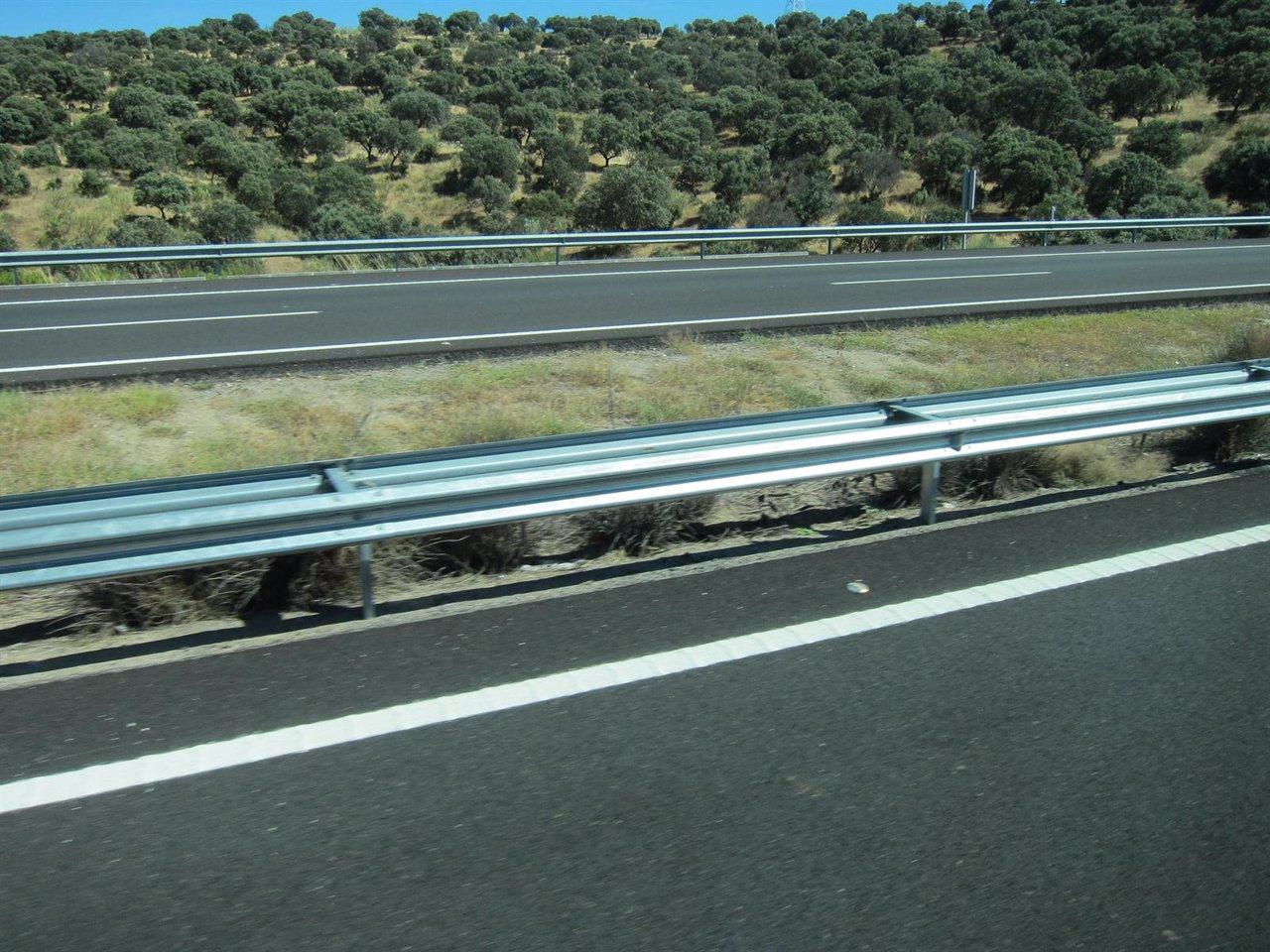 Carretera, Autopista, Autovía Vacía