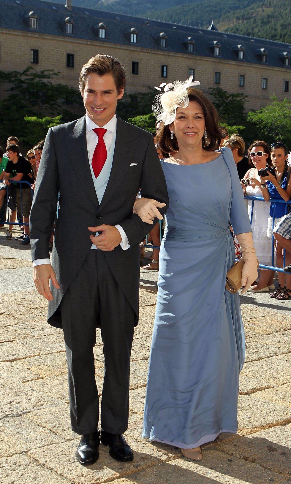 Carlos Baute y su madre