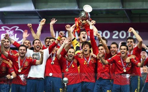 España Vence A Italia En La Final De La Eurocopa