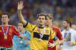 """Foto: Casillas: """"Han sido cuatro años inolvidables"""" (GETTY)"""