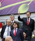 """Foto: Rajoy, """"orgulloso"""" del """"fútbol"""" y la """"calidad humana"""" de la selección (RFEF)"""