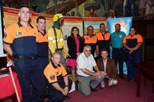 Exposición sobre prevención de incendios