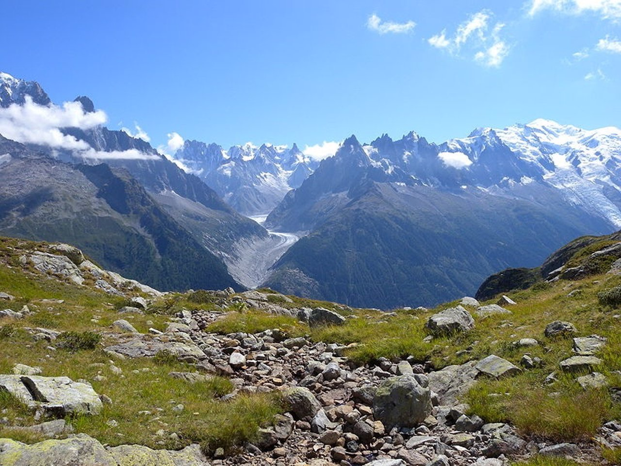 Alpes, Montañas