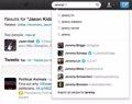 Twitter incorpora autocompletado