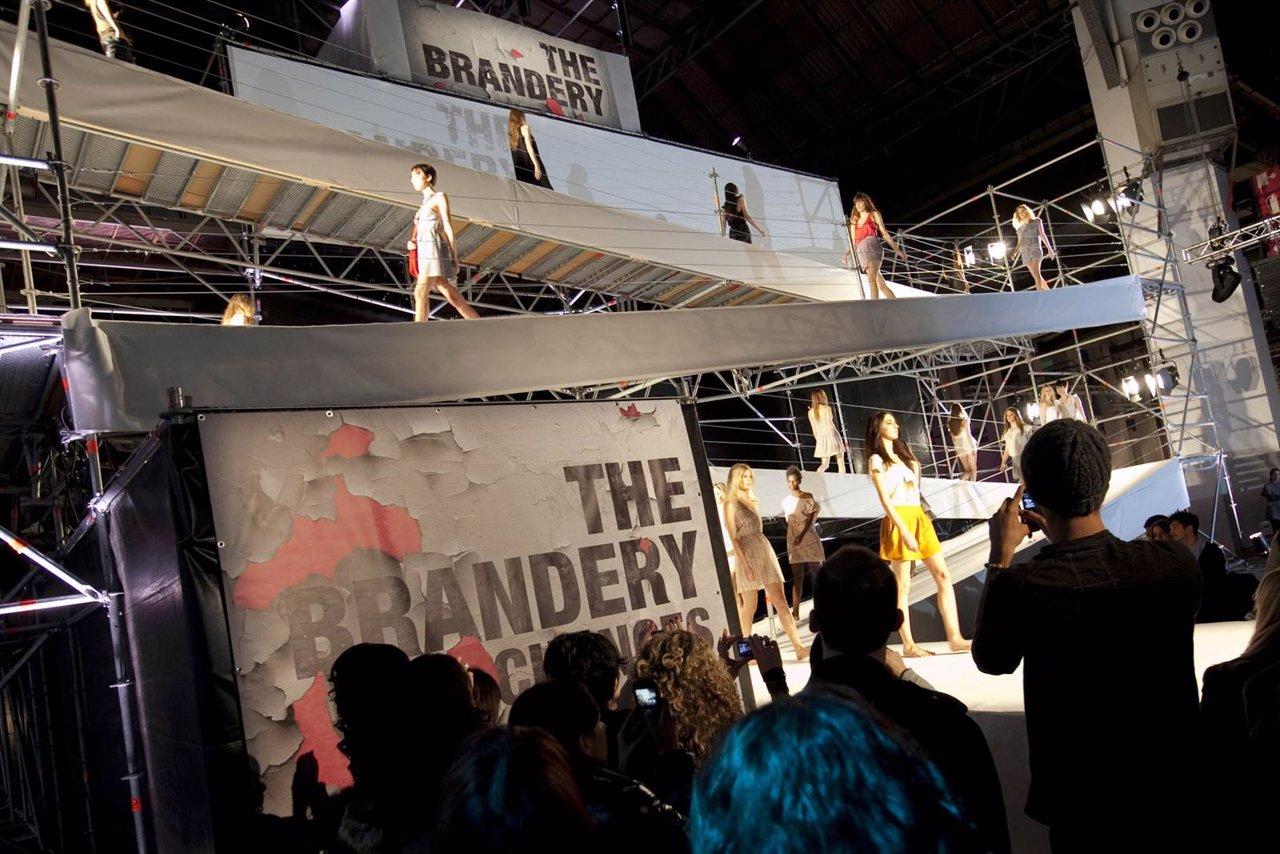 Uno De Los Desfiles Celebrado En El Certamen The Brandery 2011