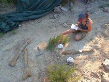 Hallan un nuevo yacimiento de dinosaurios en Isona i Conca Dellà