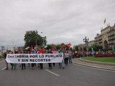 Manifestación del 12 de julio contra los recortes del Gobierno
