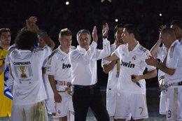 Jose Mourinho Y Real Madrid Celebracion De La Liga