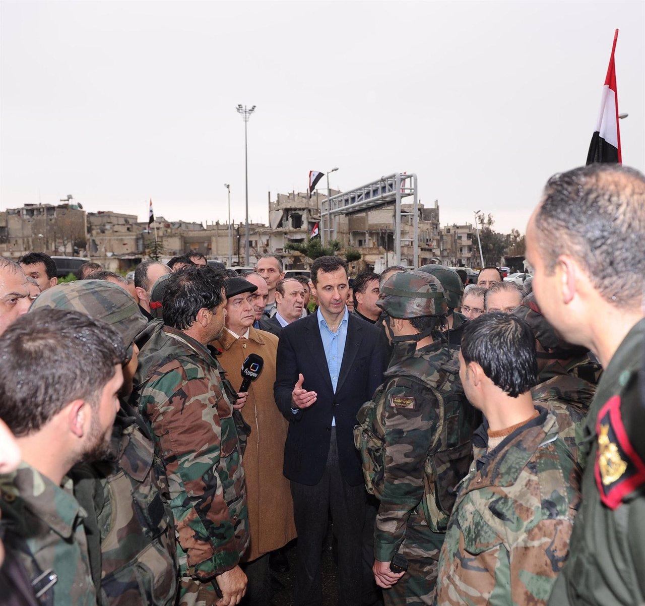 Bashar Al Assad, En Homs