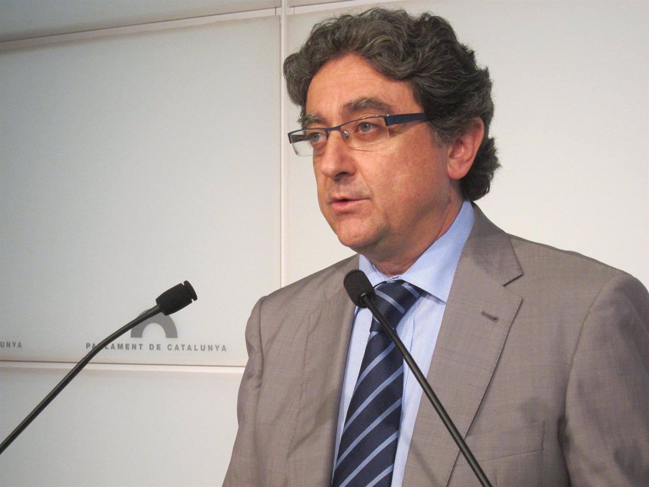 El Portavoz Del PP Enric Millo
