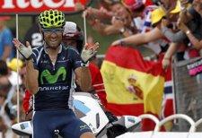 Alejandro Valverde gana en el Tour de Francia