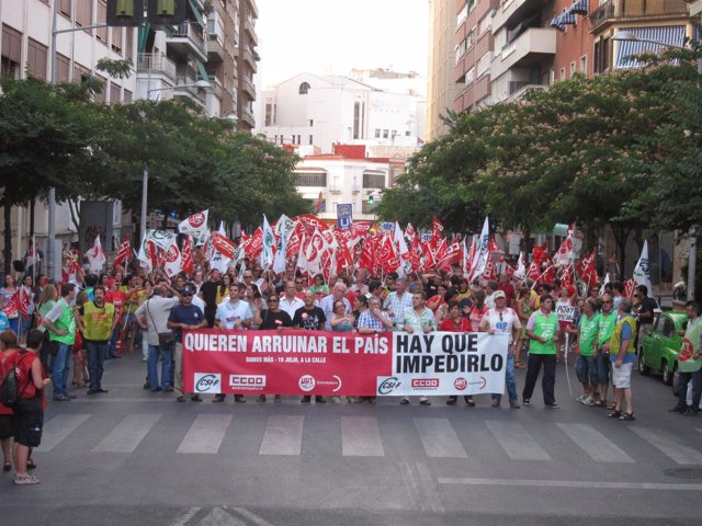 Manifestación En Badajoz