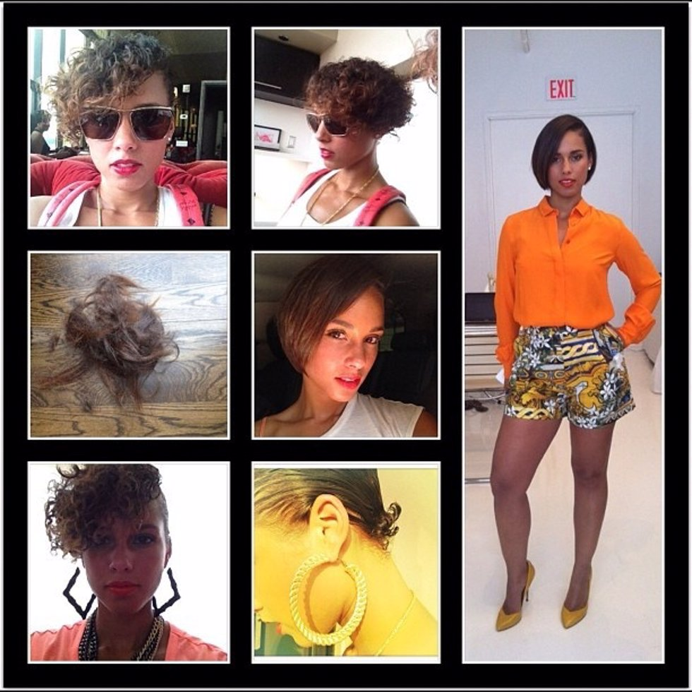 LOOKS DE ALICIA KEYS
