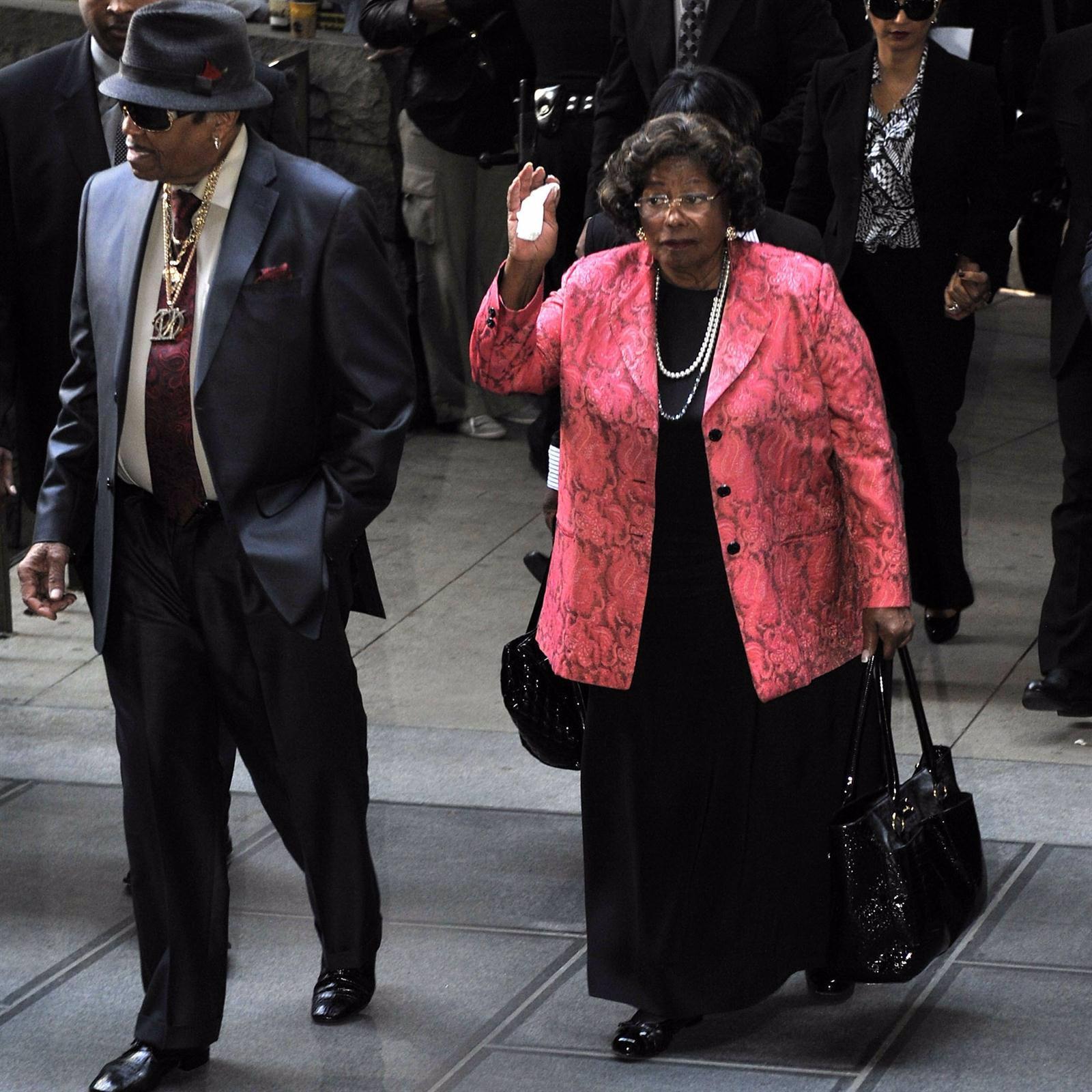 Joe Jackson And Katherine Jackson Arrive At Court
