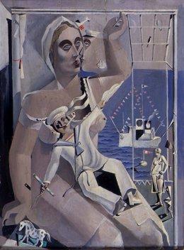 'Depart. Homenaje Al Noticiario Fox', De Dalí