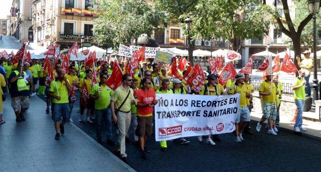 Manifestación Transaltozano