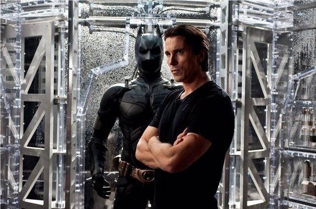 CHRISTAN BALE EN THE DARK KNIGHT RISES