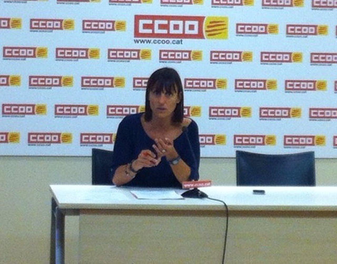 Cristina Faciaben, Presenta Informe