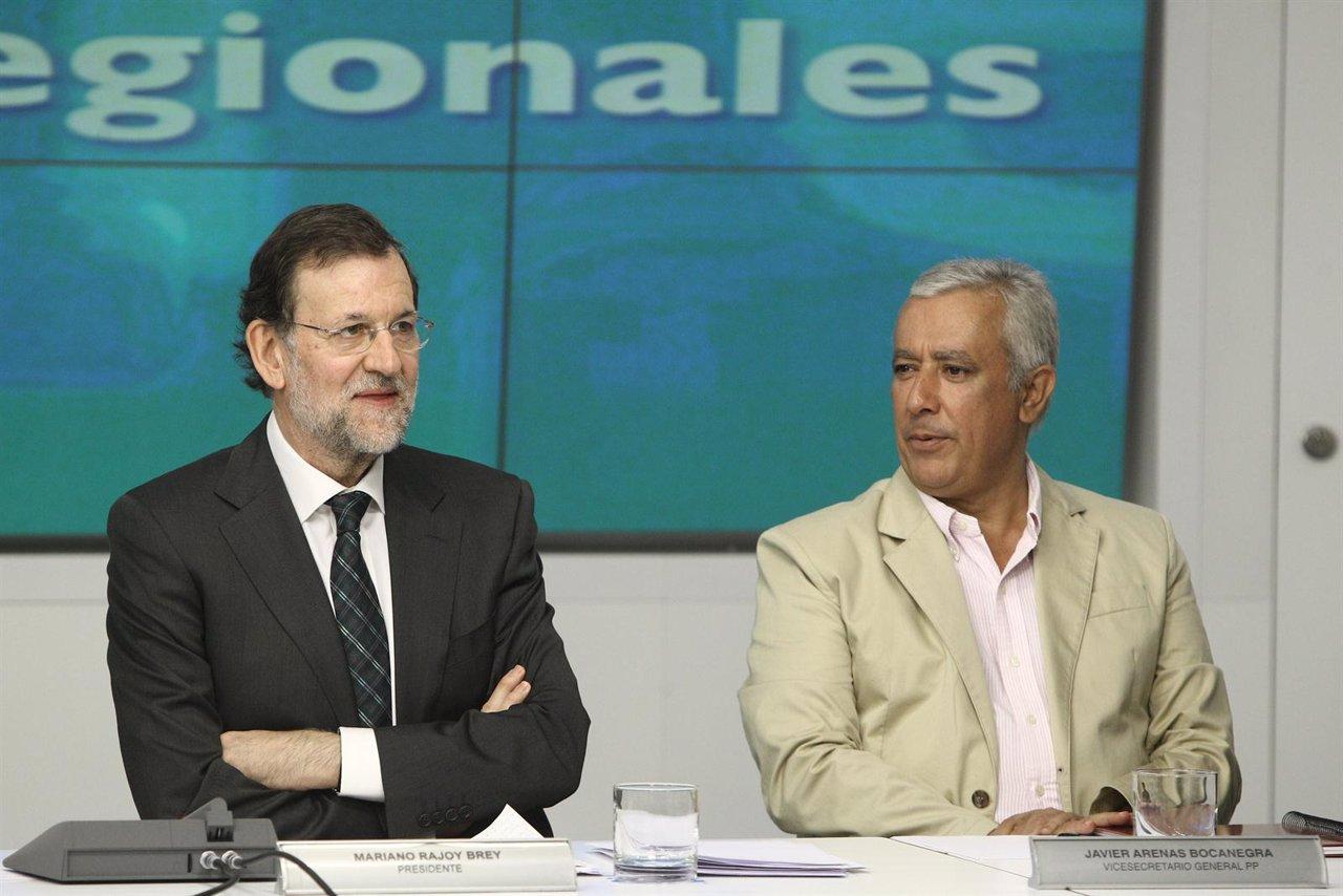 Mariano Rajoy reúne a sus barones en Génova