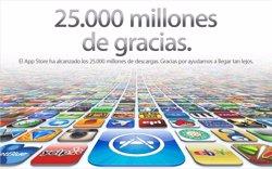Foto: Dos tercios de las aplicaciones de la App Store de Apple nunca han sido descargadas (APPLE)