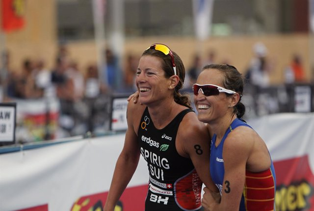 Ainhoa Murua Nicola Spirig Juegos Olímpicos de Londres