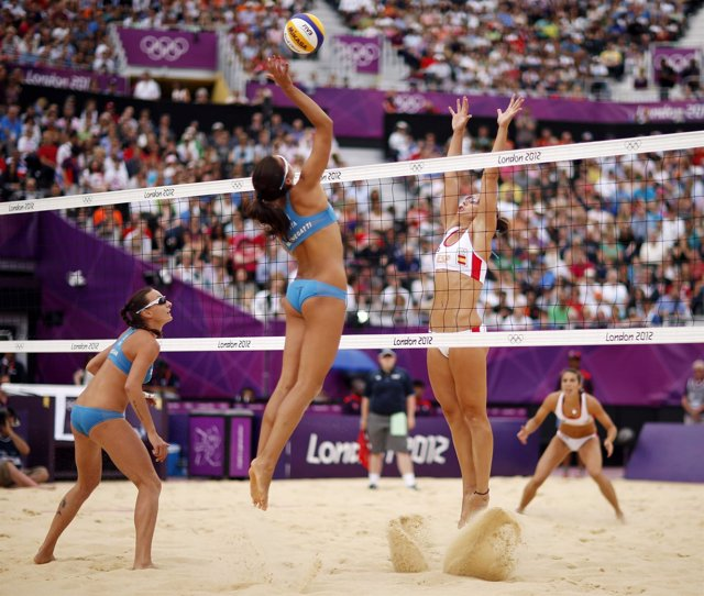 Liliana Fernández Steiner Elsa Baquerizo voley playa Juegos Olímpicos Londres