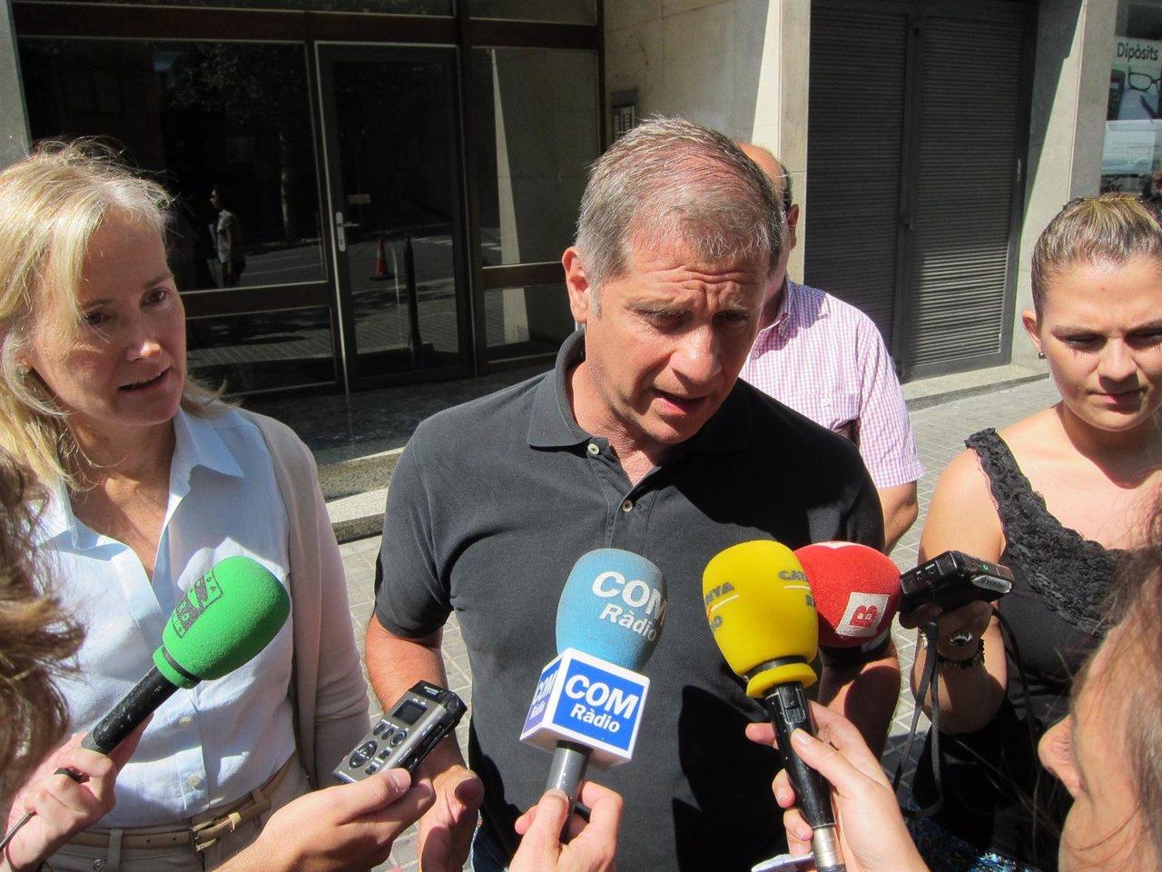 El Líder Del PP En Barcelona, Alberto Fernández Díaz