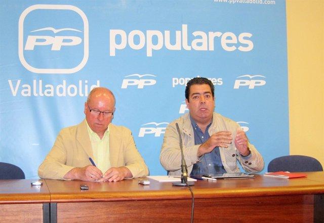 Alfonso Centeno y Alberto Gutiérrez