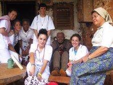 Las alumnas de la UCAV en Camerún