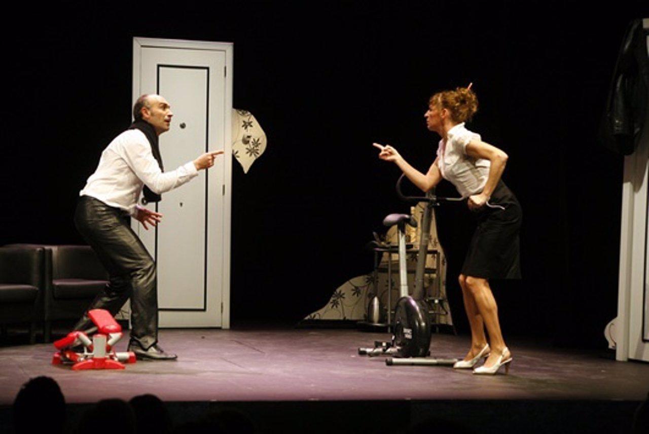Representación De La Obra Teatral 'Pareja Abierta'