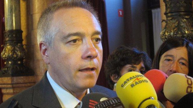 Pere Navarro, En El Parlament