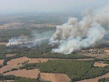 Incendio En Vilopriu (Girona)
