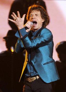 El cantante de los Rolling Stones, Mick Jagger