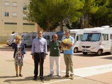 Inauguración oficial del área de servicios de autocaravanas de Calatayud