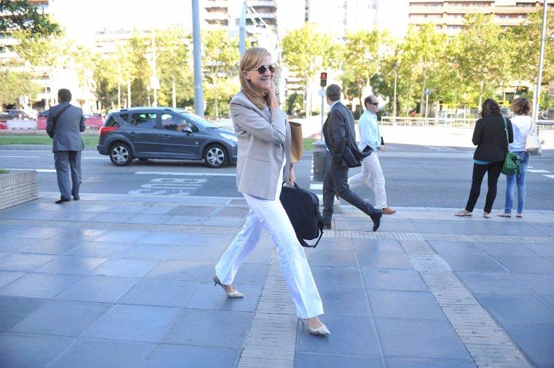 La infanta cristina retoma su trabajo en barcelona for Trabajo urge barcelona