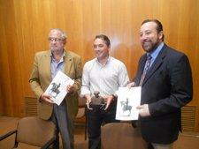 Alberto Castillo, Rafael Gómez  y Juan Antonio de Heras