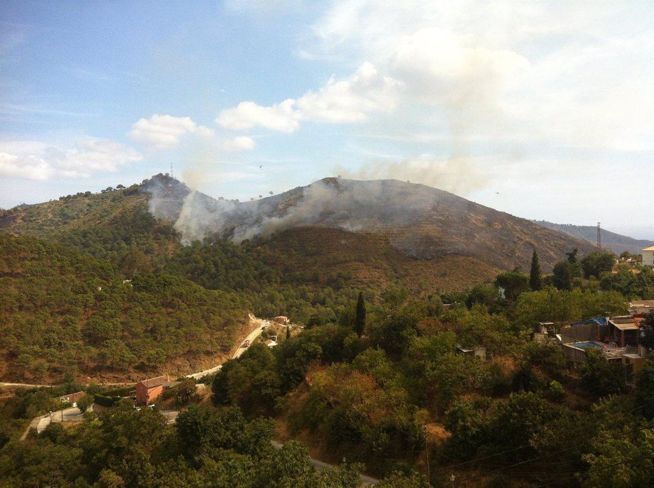 Incendio de Málaga