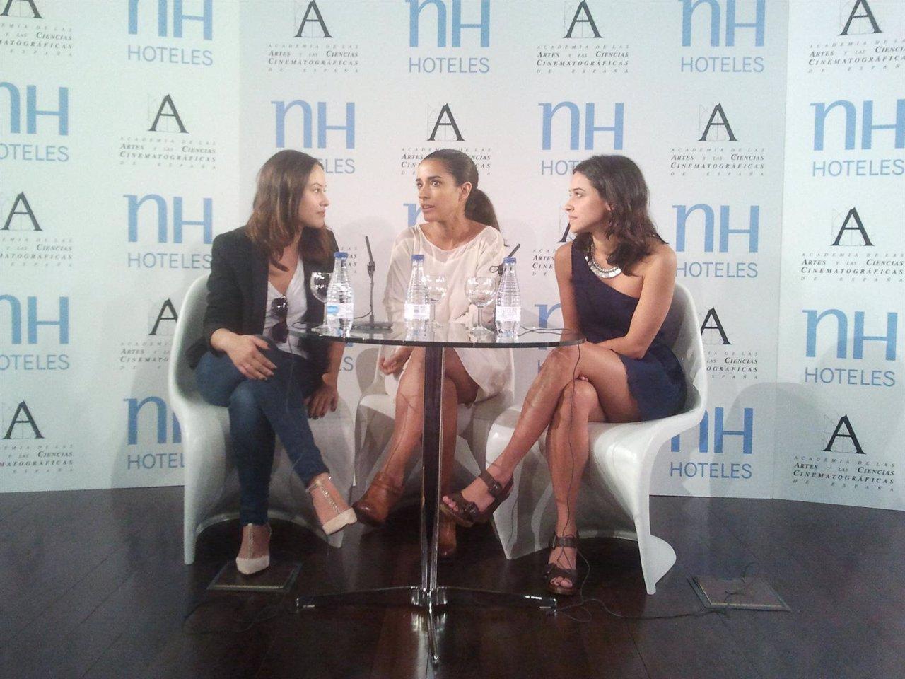 Aída Folch, Inma Cuesta y Macarena García