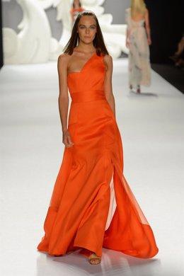 Desfile de Carolina Herrera en la Semana de la Moda de Nueva York