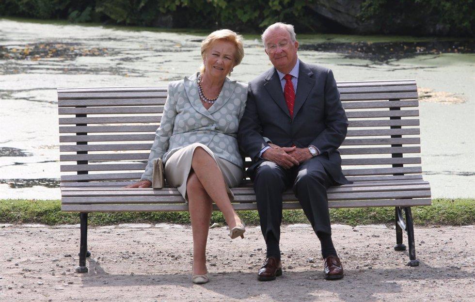 Alberto II y Paola de Belgica
