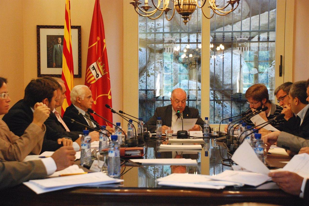 Conselh Generau d'Aran, presidido por Carlos Barrera
