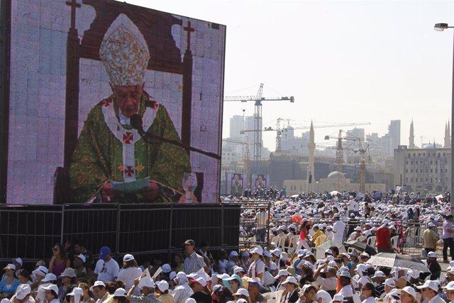 El Papa en Líbano