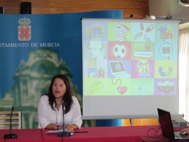 Concejal de Educación del Ayuntamiento de Murcia, María Dolores Sánchez