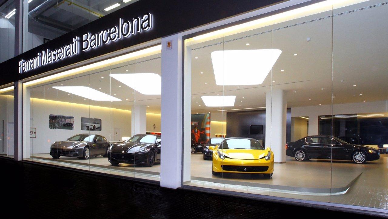 Concesionario Ferrari Maserati En Barcelona