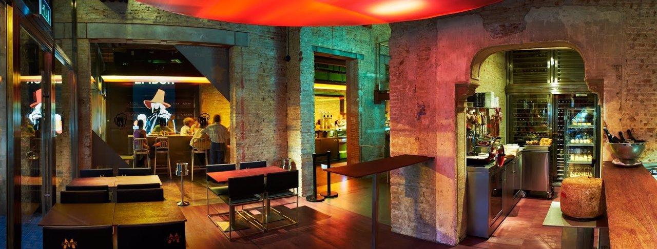 Interor del nuevo local de Moritz dedicado a la degustación de vinos