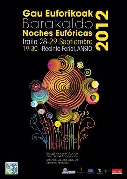 Cartel Anunciador De Las Noches Eufóricas 2012