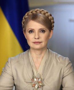 La ex primera ministra Yulia Timoshenko