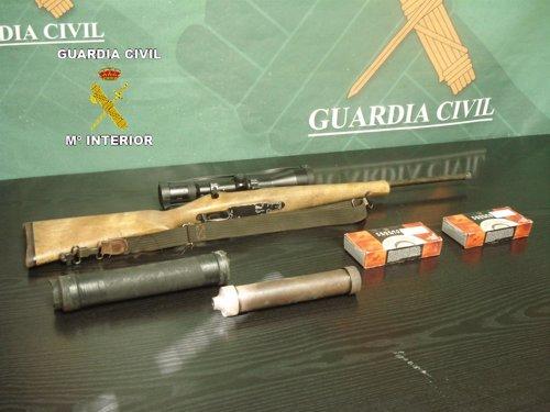 Detenidos dos cazadores furtivos en una zona de gran valor ecológico y natural de la provincia de Ciudad Real Fotonoticia_20120920140746_500