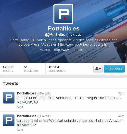 Twitter ya no permite la existencia de avatares animados